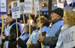 Köztisztviselők reggeli sztrájkja