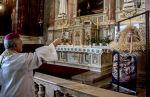 Búzakoszorú a bazilikában