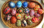 Húsvéti tojásfestés ukrán módra